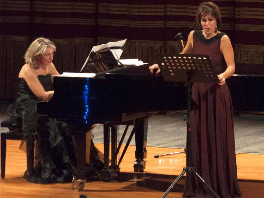 """""""La grazia del delirio amoroso"""" con il mezzosoprano Laura Polverelli ed il maestro Laura Pasqualetti"""